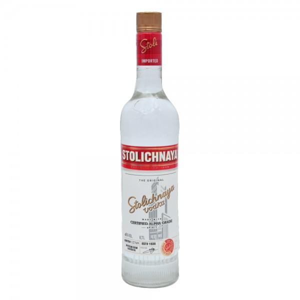 Stolichnaya Russian Vodka 700ml 100718-V001 by Stolichnaya