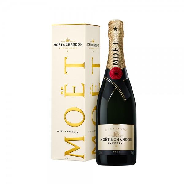 Champagne Moët & Chandon Impérial Brut 75cl Giftbox 101014-V001 by Moët & Chandon