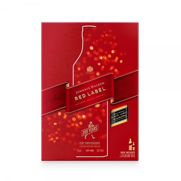 J.Walker Red Label Whisky + 200Ml Free - 1L 101045-V002 by Johnnie Walker