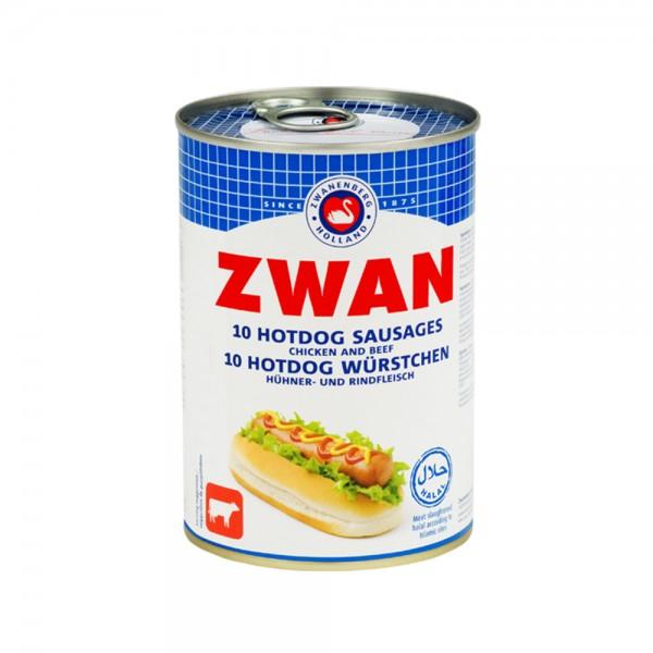 Zwan Beef and Chicken Preserved Hotdogs 200g 101508-V001 by Zwan