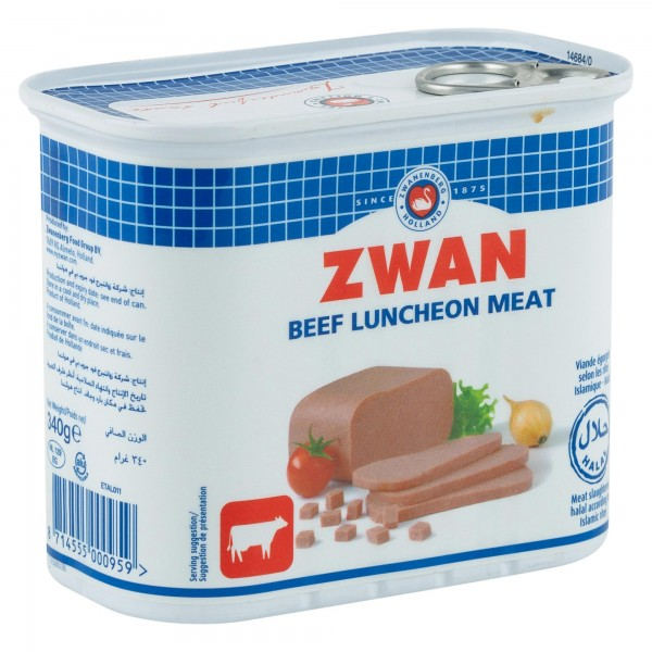 Zwan Beef Luncheon Meat 340G 101520-V001 by Zwan