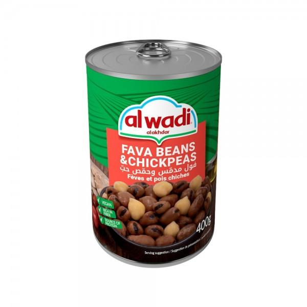 Al Wadi Al Akhdar Fava Beans & Chickpeas 101678-V001 by Al Wadi Al Akhdar