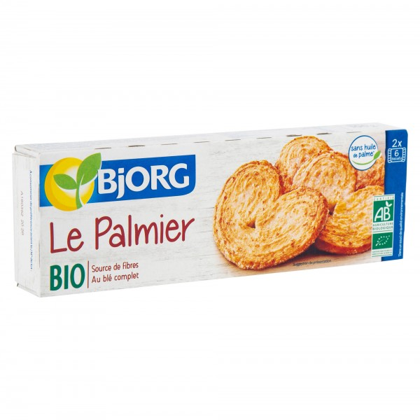 Bjorg Palmiers Bio Biscuits 100G 103645-V001 by Bjorg