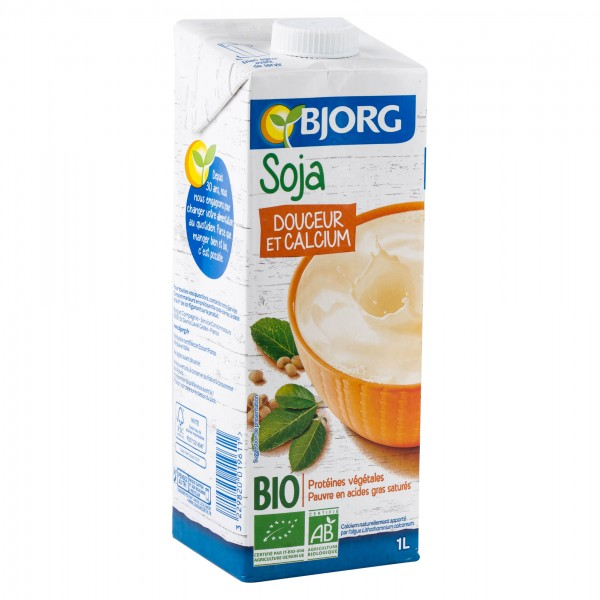 Bjorg Organic Soy Drink With Calcium 1L 103671-V001 by Bjorg