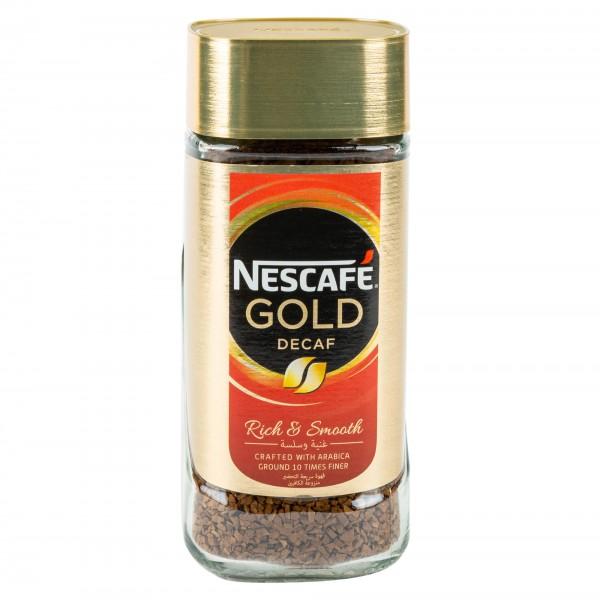Nescafe Gold Blend Decaffeinated 100G 104311-V001 by Nestle