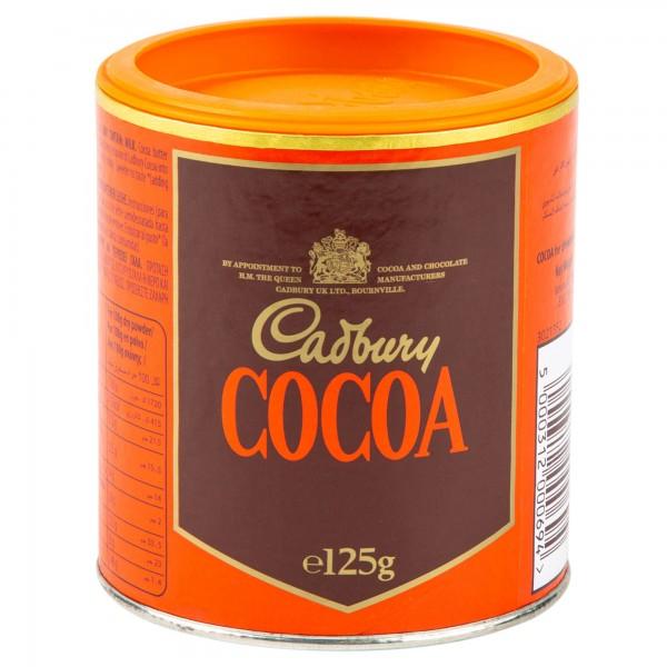 Cadbury Pure Cocoa Powder In Tin 125G 104380-V001 by Cadbury