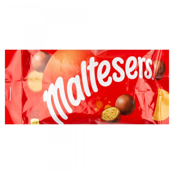 Maltesers Round Milk Chocolate Pack 37G 105029-V001 by Mars