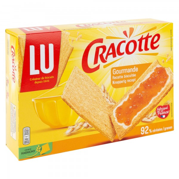 Lu Cracotte Cereales Gourmande 250G 106065-V001 by LU
