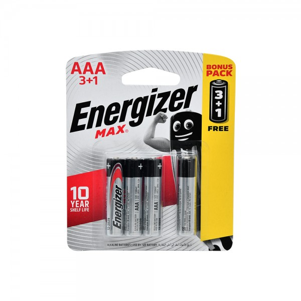 Energizer AAA 3+1 Free 106825-V004 by Energizer