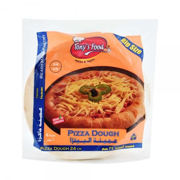 Tonys Food Pate Pizza Grande S - 6Pc 107932-V001 by Tony's Food