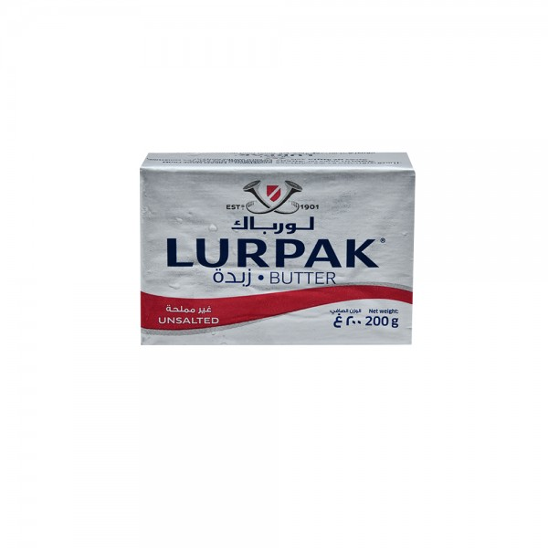 Lurpack Unsalted Butter 200G 108454-V001 by Lurpak