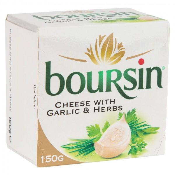 Boursin Ail 150G 108663-V001 by Boursin