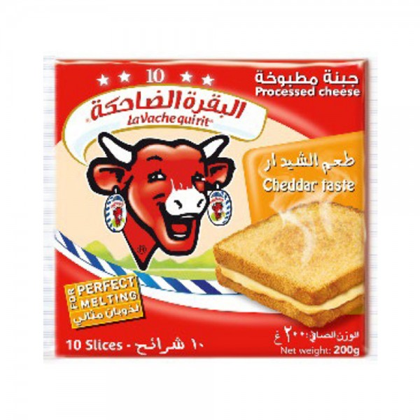 Vqr Sliced Cheese Cheddar 108760-V001 by La Vache qui rit