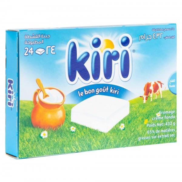 Kiri Cheese Spread, 24 portions, 432g 108771-V001 by Kiri