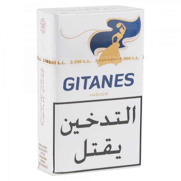 Gitanes Indigo Cigarettes 1 Pack 108811-V001 by Gitanes