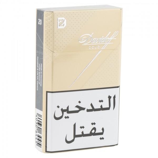 Davidoff Gold Cigarettes 20 per Pack 108814-V001 by Davidoff Cigarettes