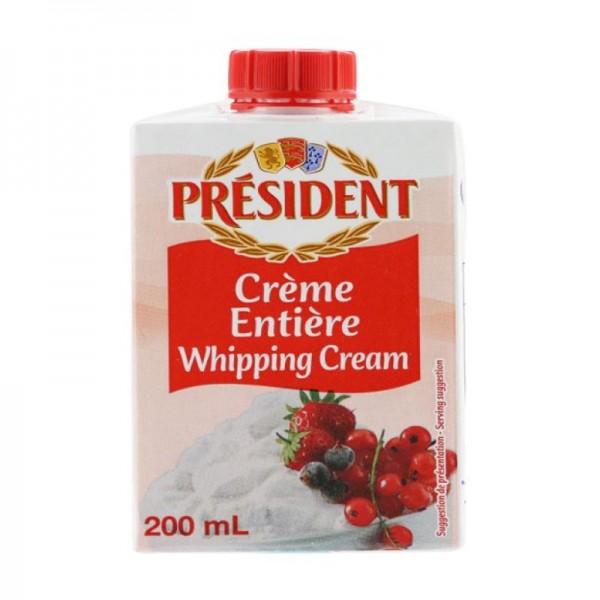 President UHT Whipping Cream 200ml 110455-V001 by President