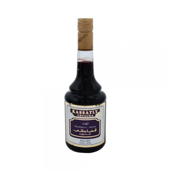 Kassatly Blackberry Syrup - 600Ml 110704-V001 by Kassatly Chtaura