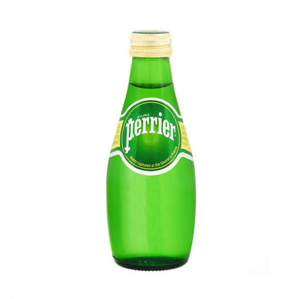 Perrier Sparkling Natural Mineral Water 200ml 110810-V001 by Perrier