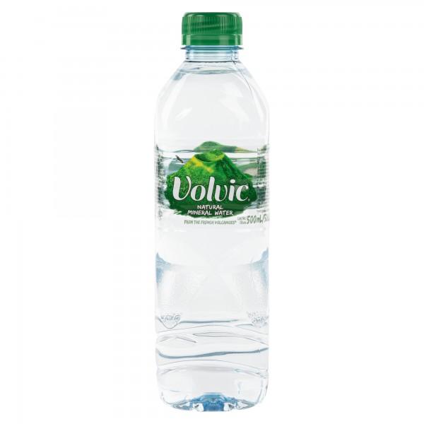 Volvic Natural Mineral Water 500ml 110834-V001