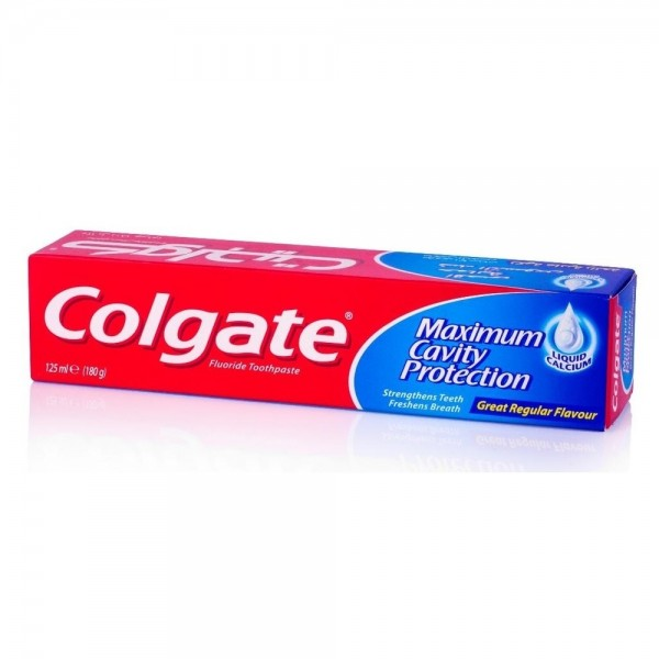 Colgate Maximum Cavity Protection Toothpaste 120ML 112623-V001 by Colgate