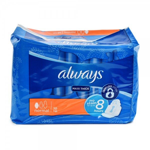 Always Maxi Normal 10 Count 112882-V001 by Always