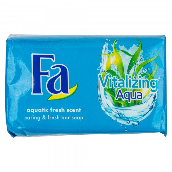 Fa Bar Soap Vitalizing Aqua 125G 112990-V001 by Fa