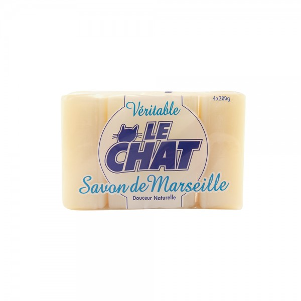 Le Chat Savon Glycerine - 4X200G 113013-V001 by Le Chat
