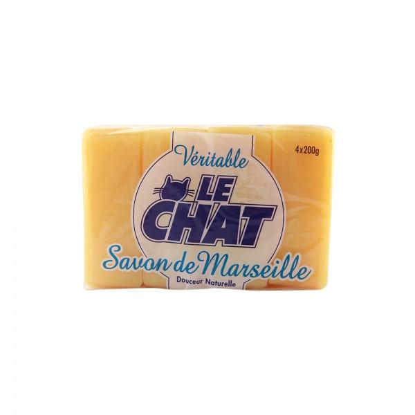 Le Chat Savon Fleur D'Oranger - 4X200G 113014-V001 by Le Chat