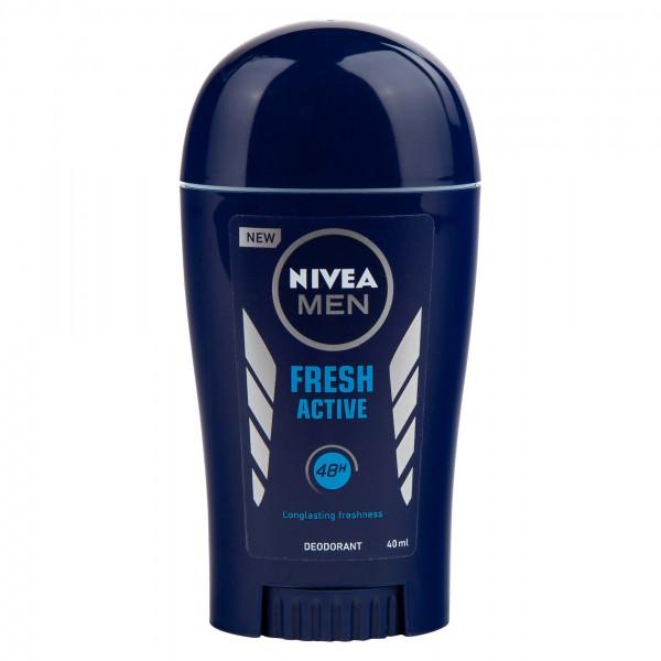 Nivea Men Fresh Active Deodrant Stick 40Ml 119735-V001