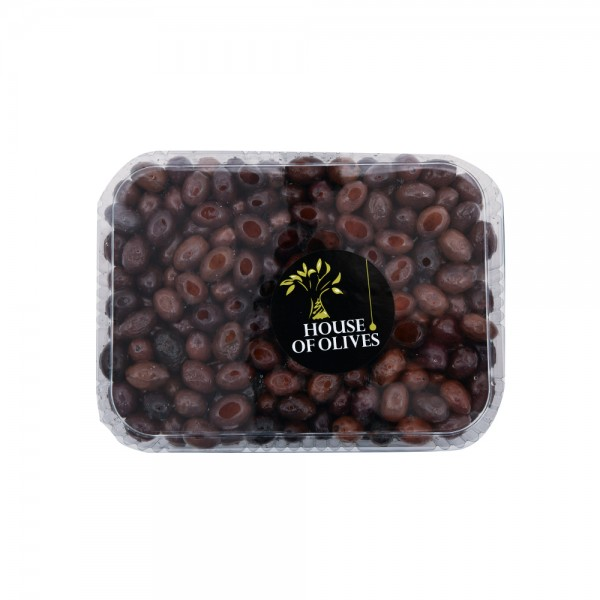 Delicates. House Of Olives Black Olives 120486-V001 by Spinneys Cheese Counter