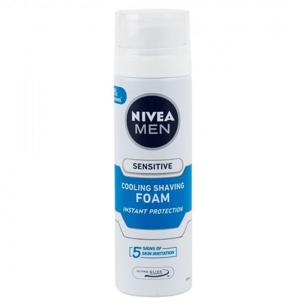 Nivea Men Sensitive Shaving Foam 200Ml 120953-V001