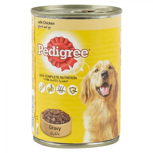 Pedigree Gravy With Chicken Can 400G 121016-V001