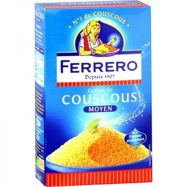 Ferico Couscous Medium  - 500G 122373-V001 by Ferrero Couscous
