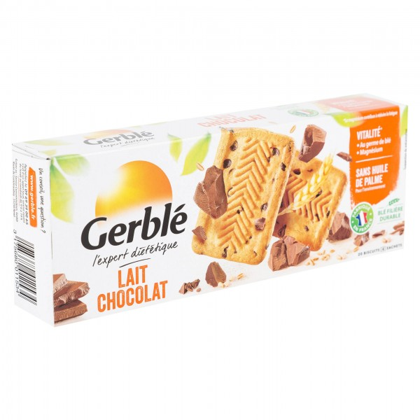 Gerble Biscuit Milk Chocolate 230G 123021-V001 by Gerble