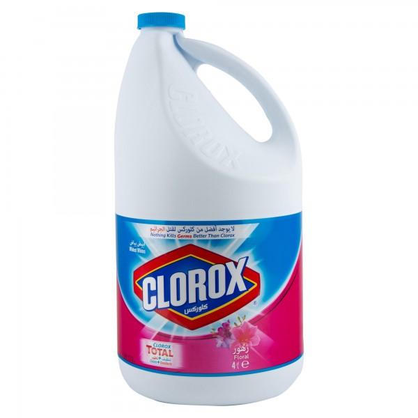 Clorox Bleach Floral 4L 123557-V001