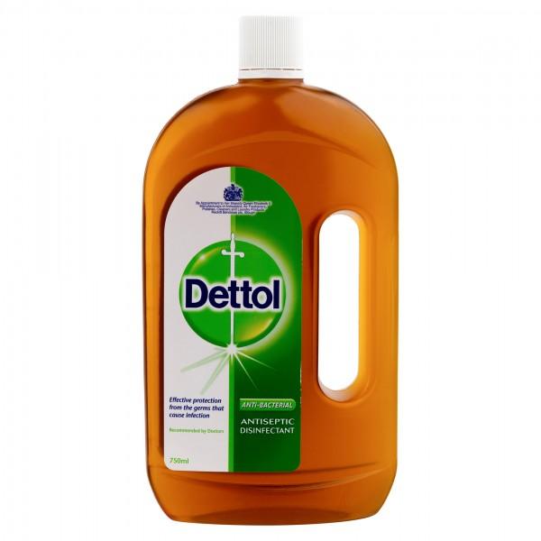 Dettol Antiseptic Disinfectant Liquid 750ml 127933-V001 by Dettol