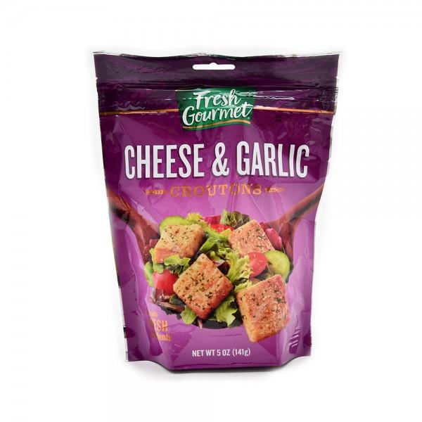 F.Gourmet Cheese + Garlic Croutons 5OZ 129137-V001 by Fresh Gourmet