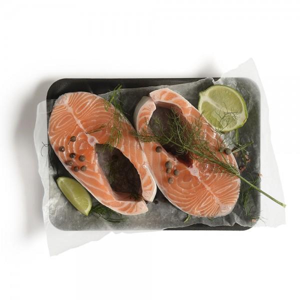 Scottish Salmon Steak per Kg 131768-V001 by Spinneys Fresh Fish Market