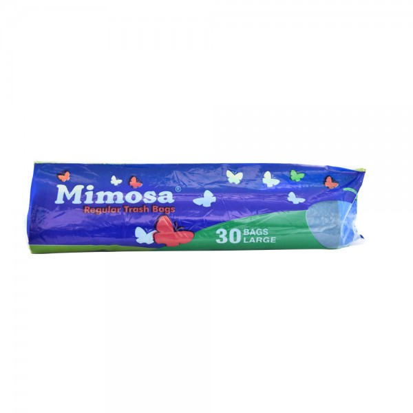Mimosa Trash Bags Large Size 30 Count 132636-V001 by Mimosa