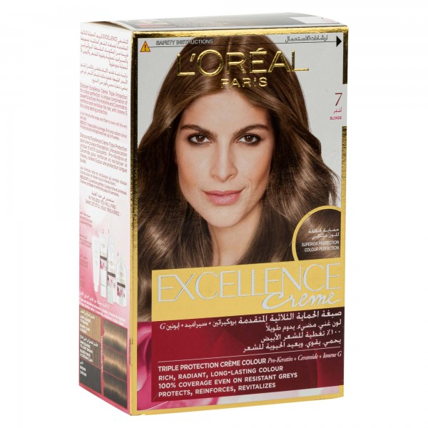 L'OREAL Paris Excellence Coloration Blond 7 1Pc 134707-V001 by L'oreal