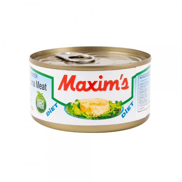 Maxim's White Tongol Tuna Meat in Water Canned 200G 137366-V001 by Maxim's