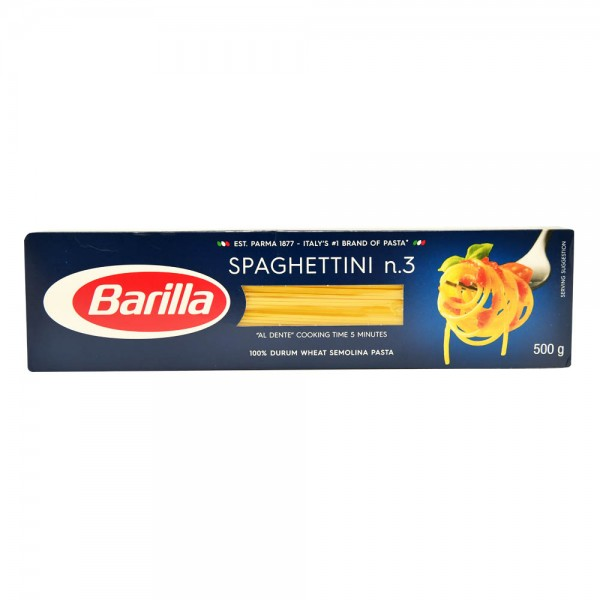 Barilla Spaghetti n.3 500G 137381-V001 by Barilla
