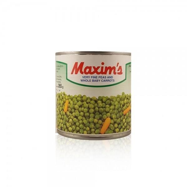 Maxim's Very Fine Peas And Whole Baby Carrots Can 400G 137406-V001 by Maxim's
