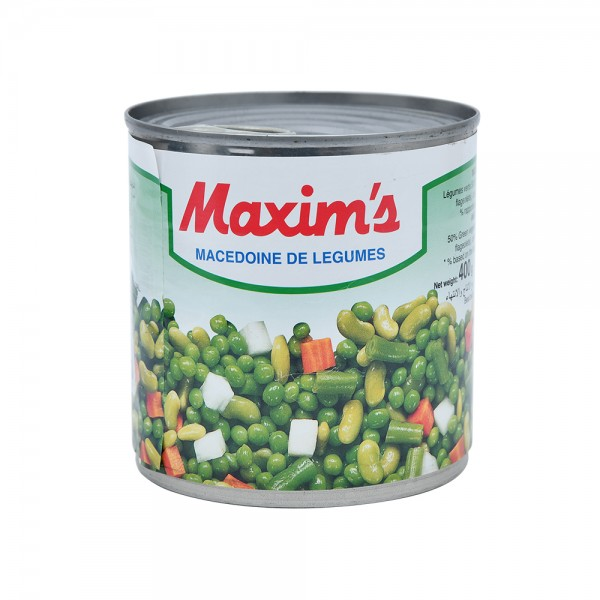 Maxim's Mixed Vegetables French Style Can 400G 137407-V001 by Maxim's