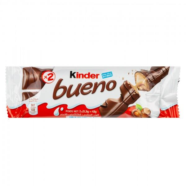 Kinder Bueno Chocolate Bar 43G 137515-V001 by Ferrero