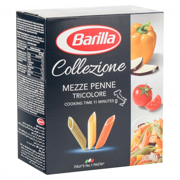 Barilla Pasta Penne Tricolore 500G 137969-V001