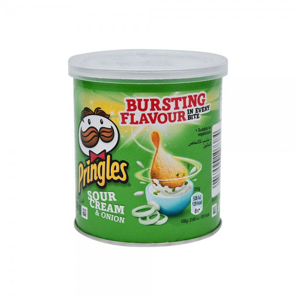 Pringles, Sour Cream and Onion Chips, 40G 138014-V001 by Pringles