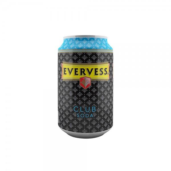 Evervess Club Soda Water Can - 330Ml 138079-V001 by Evervess