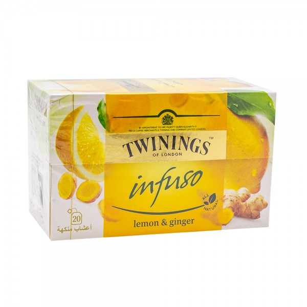 Twinings Lemon & Ginger Herbal 50G 138640-V001 by Twinings